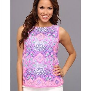 Lilly Pulitzer Iona Shell Behind The Gates top